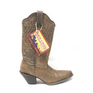 Durango Crush Pointed Toe Cowboy Boots Size 6M